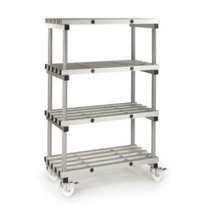 Anodised Aluminium Shelving,  Slingsby
