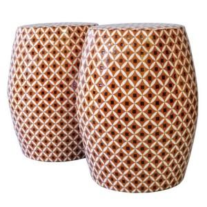 Ceramic Stool Lou Lou de La Falaise