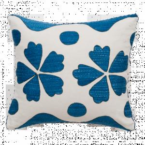 Blue Fauve Suzani Cushion Madeline Weinrib